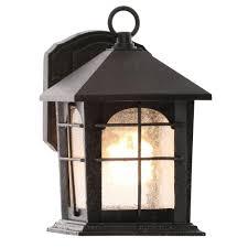 brimfield 1 light aged iron outdoor wall lantern