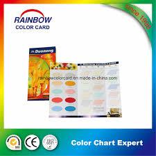 Hot Item Building Material Interior Paint Colour Chart
