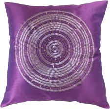 amazoncom decorative emboirdery  beads floral throw pillow