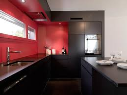 Red Wall Kitchen Red Kitchen Walls Interior Design Ideas And Photo Gallery
