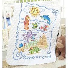 Baby Cross Stitch Quilts Cross Stitch Baby Quilts Walmart Baby Owl ... & Baby Cross Stitch Quilts Cross Stitch Baby Quilts Walmart Baby By  Herrschnersar Pre Quilted Under The Adamdwight.com