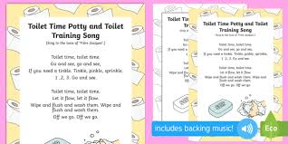 New Toilet Time Toilet And Potty Training Song Toilet Training