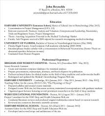 Resume Template Harvard Business School Best of Harvard Resume Format Musiccityspiritsandcocktail