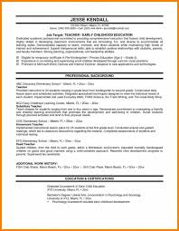 Sample Teaching Resume Resume Elementary School Teacher Resume Sample Teaching Examples 28