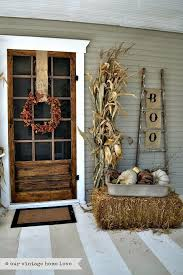 front door decorating ideasBest 25 Fall porches ideas on Pinterest  Fall porch decorations