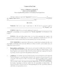 Sale Agreement Forms Purchase Contract Cancellation Agreement Template Free Real