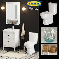 Ikea Bathroom Set 3d Cgtrader