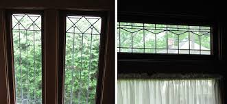 original craftsman leaded glass windows circa 1918