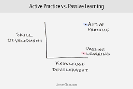 Passive Learning Vs Active Practicing Why You Should Stop