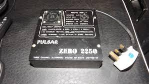 Sound To Light Controller Pulsar Zero 2250 3 Channel Disco Light Controller Sound To