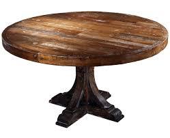 reclaimed wood pedestal dining table round wood dining table astonishing taracea moelle monty