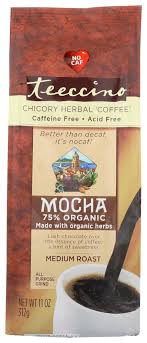 Teeccino Mediterranean <b>Herbal Coffee Mocha</b>, 11 Oz - Walmart.com ...