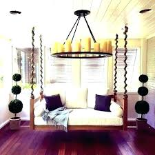 outdoor hanging bed australia plans floating gallery of for porch day trampoline