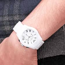 emporio armani white ceramic moonglow mens wrist watch ar1403 share home > mens watches > armani >