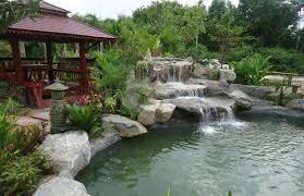 Koi Pond Designs Installations Thai Garden Design Best Pond Garden Design