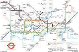 Plan London Underground Stations