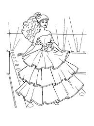 barbie doll coloring pages doll coloring pages fashion show barbie doll coloring page doll coloring pages