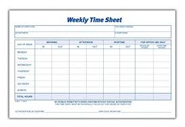 Time Sheets Amazon Com Adams Time Sheet 9 X 5 5 Inch Weekly Format 2 Part