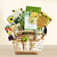 gift baskets gardening gift tote