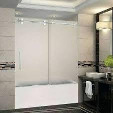 glass tub enclosures bathtub glass door vancouver