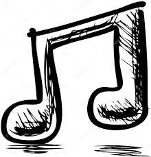 Note Musique Double Image Vectorielle Chuhail Main Dessin