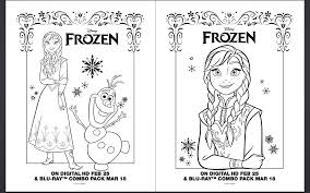 Small Picture Coloring Pages About Frozen Coloring Pages