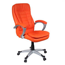 modern orange leather chairs. orange leather office chair pinterest model 6 for attractive household desk prepare modern chairs