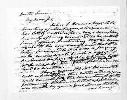 Andrew Jackson to Lewis Fields Linn, November 22, 1837 | Library of Congress