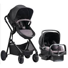 evenflo stroller carseat combo  cute interior and – plantoco