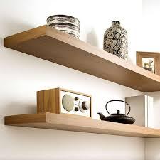 Ikea Oak Floating Shelves