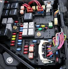 fuses cadillac cts 2003 2007 engine bay fuse block under the hood