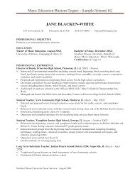 Sample Resume For Masters Program masters resume Savebtsaco 1