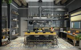 Industrial Design Kitchen Thirty Two Industrial Design Kitchens That Can Help You Along With