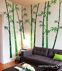 amazing bamboo wall decor 85 best decal image on tree sticker vinyl art home 22 decoration idea screen room divider diy hanging decorative panel