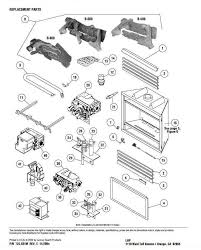 fireplace superior b500 parts