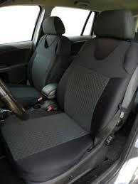 2 grey dots pattern front vest car seat