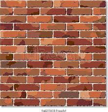 free art print of old brick wall