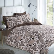 quilt covers bedding set paisley natural 3