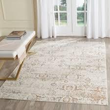 safavieh artifact grey cream 5 ft x 8 area rug atf237c the