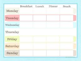 Template Grocery List Template By Category Free Printable Menu
