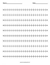 Kids : Fractions Number Line Worksheets Mental Math Grade 2 0 10 ...