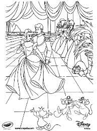 Our selection features favorite characters such as ariel from the little mermaid, bell from beauty and the beast, cinderella from the classic cinderella, jasmine from. Disney Princess Cinderella At The Ball Coloring Page Crayola Com