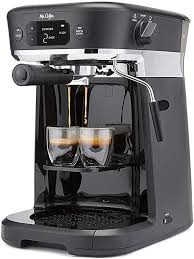 3.9 out of 5 stars with 1158 ratings. Amazon Com Mr Coffee All In One Occasions Specialty Pods Coffee Maker 10 Cup Thermal Carafe And Espresso With Milk Frother And Storage Tray Black Kitchen Dining