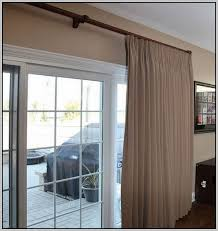 sliding door curtain rod saudireiki