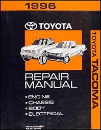 1996 toyota tacoma pickup wiring diagram manual original 1996 toyota tacoma repair shop manual original 179 00