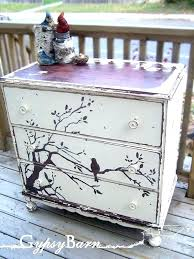 painting wood furniture ideas painted furniture ideas a cute design chipped out of the white paint