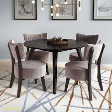 velvet dining room chairs. Atwood 5 Piece Dining Set With Soft Gray Velvet Chairs Room O
