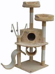 amazoncom  go pet club beige  cat condo f  cat trees  pet