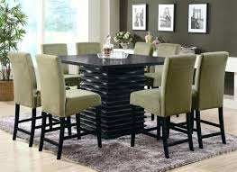 black dining room table set comfor round sets friday deals 7 piece