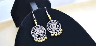 Dream Catcher Earing How to Make a Pair of Wire Wrapped Dream Catcher Earrings 81